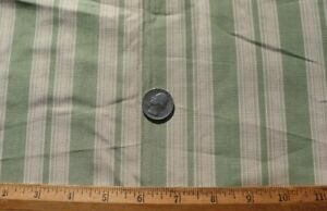 2 Pieces Of Vintage c1920s Lime Green Silk French Fabric