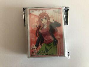 Quintessential Quintuplets Bushiroad Card Sleeves 75 Itsuki Nakano
