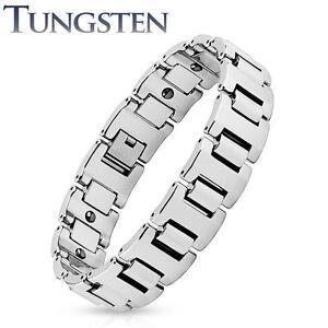 Heavy 16mm Width H Link Tungsten Carbide Chain Bracelet K308
