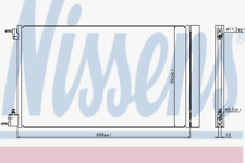 Kondensator, Klimaanlage für Klimaanlage NISSENS 940124