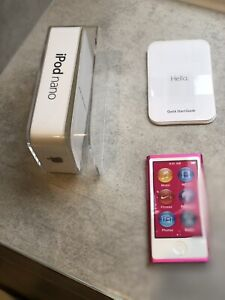 Apple iPod nano 7th Generation Pink (16GB)