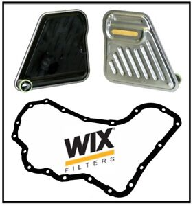Automatic Transmission Filter Kit W. Oil Pan Gasket WIX REPLACE OEM # 25313824