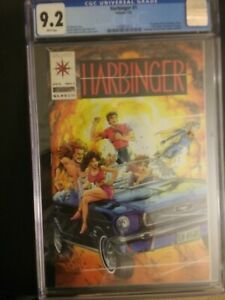 Harbinger 1 CGC 9.2 1st Appearance Harbinger Coupon Included