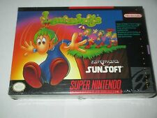 Lemmings (Super Nintendo Entertainment System SNES, 1992) NEW Factory Sealed