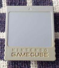 1x GameCube - Original Nintendo 59 Memorycard / Speicherkarte #grau DOL-008