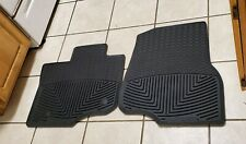 2015-2020 WeatherTech All-Weather Floor Mats for Ford F-150 - Black #W345