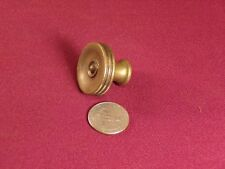 Antique Solid Brass Drawer or Cabinet Pull Knob Hardware