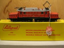 Liliput HO 11911 OBB Articulated Red Crocodile Electric Locomotive #1020.42