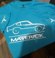 Vintage Ford Maverick Car T-Shirt