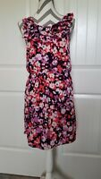 Womens BANANA REPUBLIC Floral Sleeveless Dress Size 2