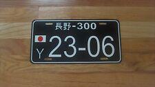 JAPANESE Style Custom JDM License Plate TRD-Honda,Mitsubishi,Toyota,Mazda,Nissan