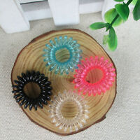New 10Pcs Girls Lady Colorful Elastic Rubber Hair Band Rope Ponytail Holders