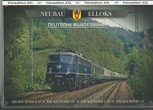 Nachkriegs - Elloks Deutsche Bundesbahn 4er DVD Box