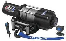 New KFI Wide 4500 lb Winch & Mount 2009-2013 Honda MUV700 Big Red