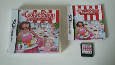 COOKIE SHOP LA BOUTIQUE DE MES REVES - NINTENDO DS - JEU DS LITE DSi COMPLET