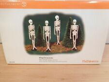 Dept 56 SV Halloween - 4 Skull Street Lamps