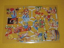 1x Poesiebilder Kinder 011 Glanzbilder spielen nostalgie Herd baden Auto Tafel