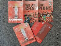 Liverpool Champions Very Limited Last Home Programme against Chelsea 22/7/2020!!