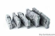 Stone walls - D&D, dungeon terrain, scenery, Frostgrave, RPG, Mordheim Warhammer