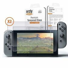 Orzly ORZTGSCRPRO Screen Protector for Nintendo Switch - 2 Pack