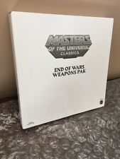 Masters of the Universe Classics MOTUC MOTU End Of Wars WEAPONS PACK In Shipper