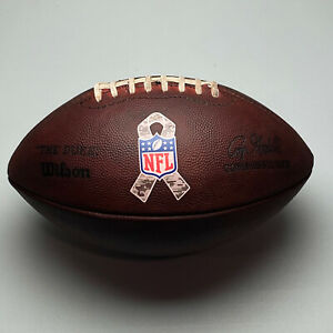2014 Atlanta Falcons Salute to Service Game Issued NFL Wilson The Duke Football