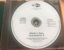 Martin Gore Depeche Mode Rare Czechoslovakia White CD Counterfeit EP Czech