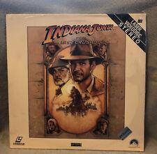 Indiana Jones And The Last Crusade, Laserdisc