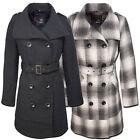 BRANDIT Ladies gonna AWAY Cappotto S-XL, invernale vintage di lana