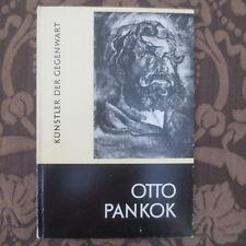 1958 Otto Pankok GERMAN Artist Painting Art Catalog Künstler der Gegenwart Kunst