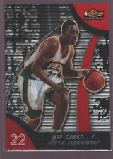 JEFF GREEN SONICS ROOKIE CARD MINT RC SP 2007-08 FINEST #92 SEATTLE GEORGETOWN