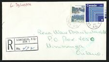1975 Registered Cover--Longueuil, Quebec, Canada