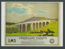 LMS Railways Greenisland Viaducts County Antrim    Postcard    z.154