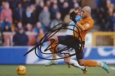 WOLVES: LEON CLARKE SIGNED 6x4 ACTION PHOTO+COA