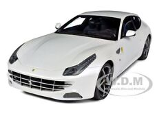 FERRARI FF GT V12 4 SEATER PEARL WHITE ELITE EDITION 1/18 CAR BY HOTWHEELS W1119