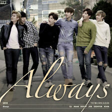 UKISS 10TH MINI ALBUM [ ALWAYS ] (CD) U-KISS
