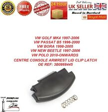 CENTRE CONSOLE ARMREST LID LATCH CLIP CATCH VW MK4 GOLF PASSAT BORA NEW BEETLE
