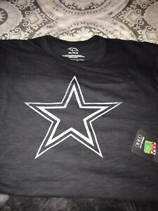 Dallas Cowboys Navy Blue 47 Brand Scrum Logo SS T-shirt XXL