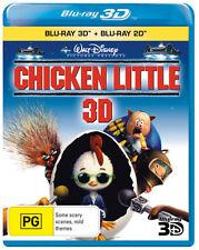 Chicken Little (3D Blu-ray/Blu-ray) * Blu-ray Disc * NEW