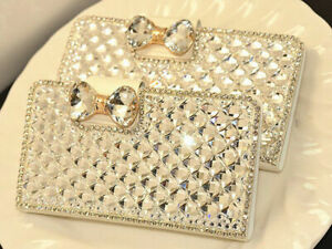 Bling Diamond flip Leather Card Wallet Case For Galaxy A42 A52 A51 A71 A72 5G