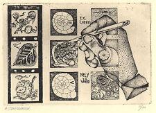 Ex Libris Ab Steenvoorden : Nely v.d. Weerd (11/100)
