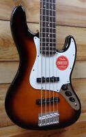 Demo Squier® Affinity Jazz Bass® V Rosewood Fingerboard Brown Sunburst