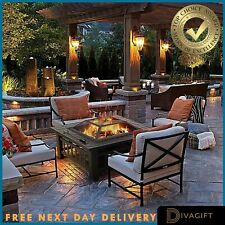 XL Firepit BBQ Outdoor Garden Patio Heater Stove Fire Pit Brazier Cover grill