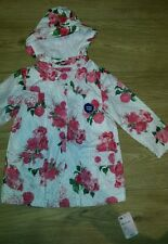 Mothercare baby girl jersey lined coat size 18-24mths/ 1.5-2 yrs NEW
