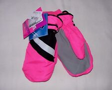 Tcp Girls Water Resistant Warm Thermolite Winter Ski Snow Mittens (Gloves) L/Xl