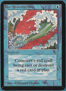 Blue Elemental Blast Alpha PLD Blue Common MAGIC MTG CARD (ID# 241756) ABUGames