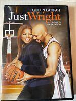 Just Wright [2010, DVD] Queen Latifah & Paula Patton Common Basketball Movie #