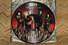 RARE KISS Smashes, Thrashes, And Hits Picture Disc Record LP with Gatefold Jack