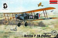 Bristol F.2B, Fighter << Roden #425, 1:48 scale