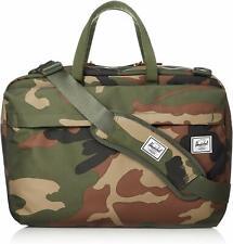 NWT $100 Herschel Supply Co. Sandford Travel Messenger Bag Briefcase Woodland